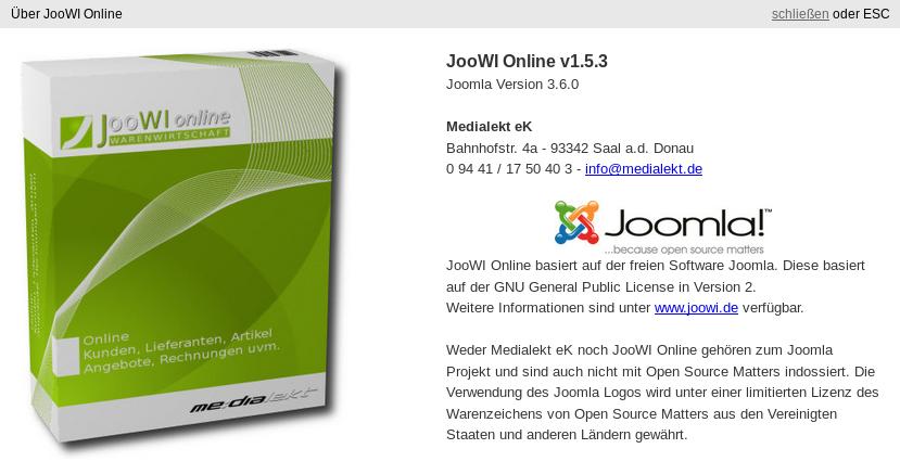 JooWI Online Warenwirtschaft - JooWI Online Update v1.5.4 - PDF ...